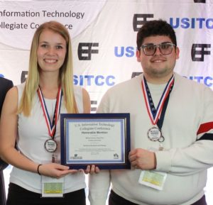Kayla Rux and William Gomez | Honorable Mention Systems Analysis and Design